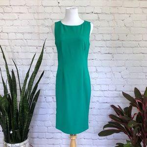 NWT Calvin Klein Side Zipper Sheath Dress